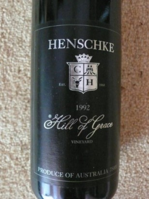 henschke hog bottle