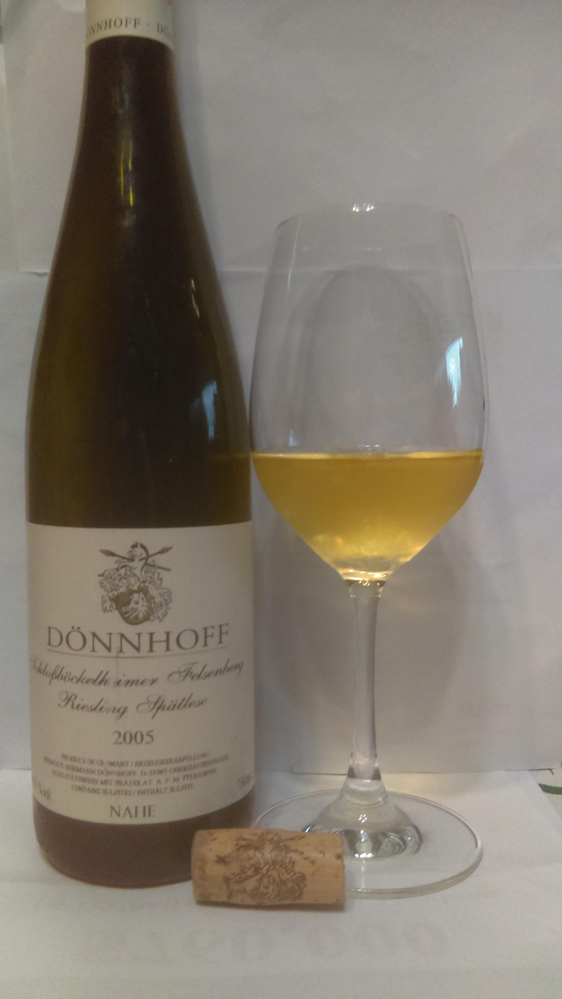2005 donnhoff spatlese
