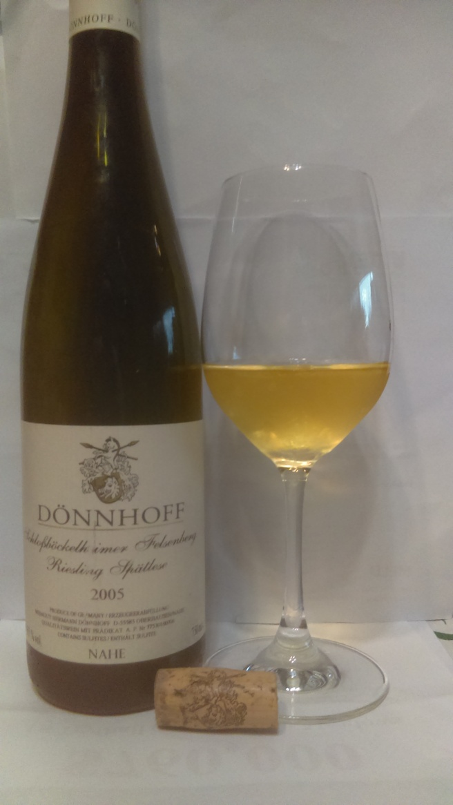 2005 donnhoff spatlese