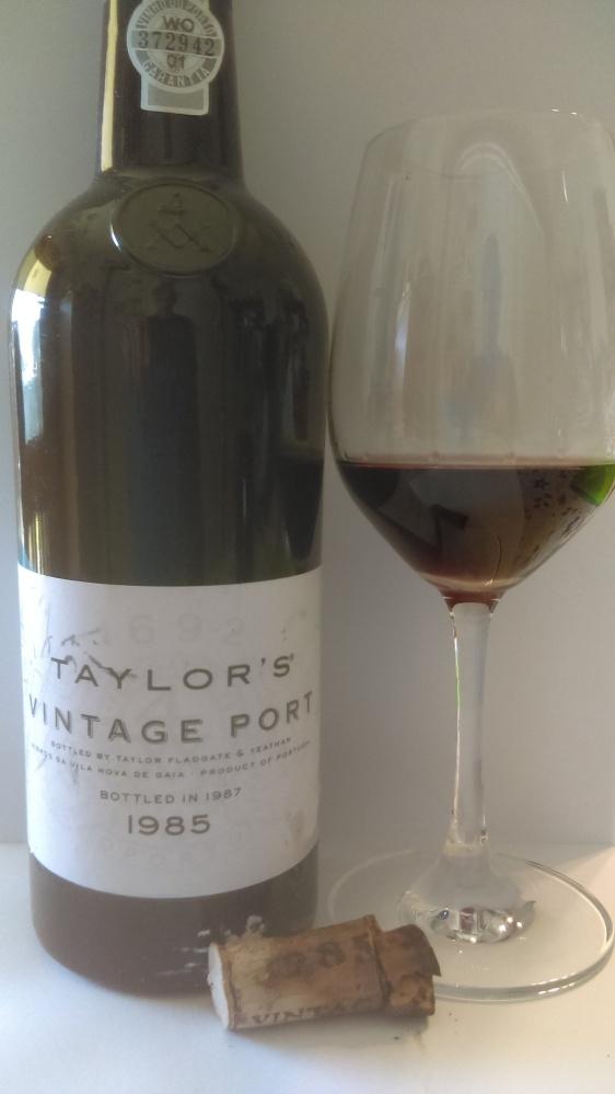 1985 taylors vintage port