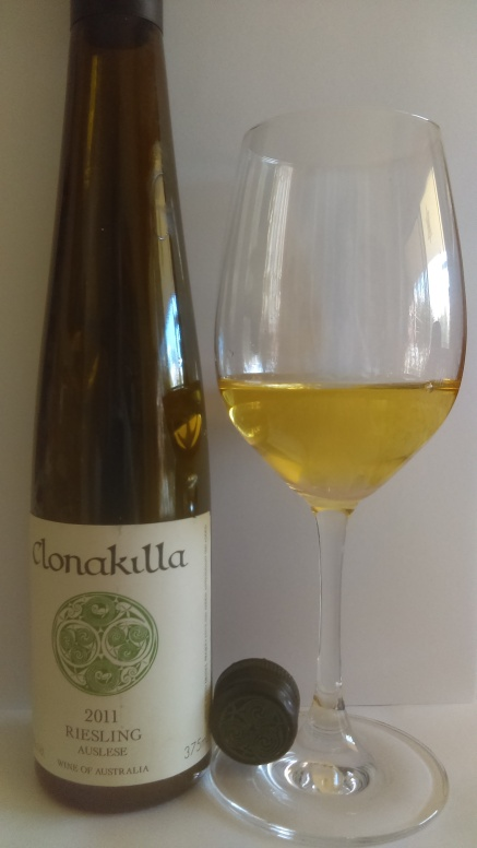 2011 clonakilla riesling auslese