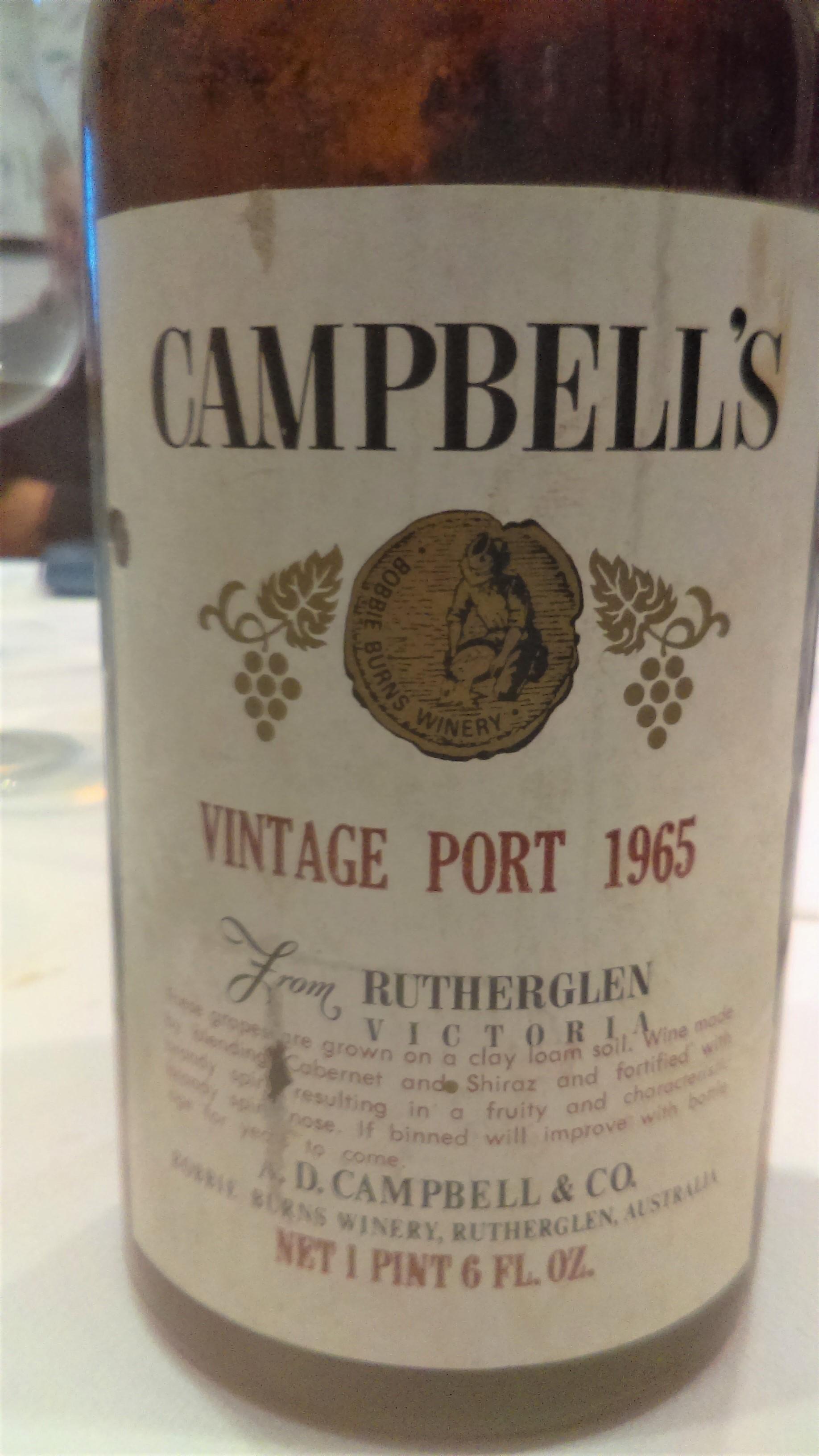 1965 campbells vp